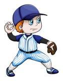 An Asian baseball player Stock Images