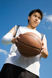 Asian basketball player Stock Photos