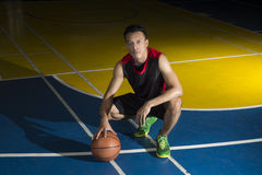 Asian basketball player Royalty Free Stock Image