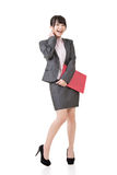Asian beautiful businesswoman Royalty Free Stock Images