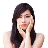 Asian beautiful girl Royalty Free Stock Photo