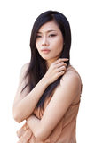 Asian beautiful girl Royalty Free Stock Photography