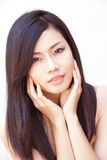 Asian beautiful girl Stock Photography