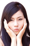 Asian beautiful girl Royalty Free Stock Photos