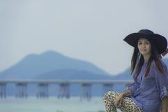 Asian beautiful girl smilling. Stock Photography