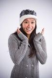 asian beautiful happy woman Στοκ Εικόνες