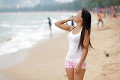 asian beautiful woman Royaltyfria Foton