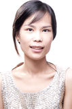 Asian Beauty. Young asian female in portrait beauty shot Royalty Free Stock Images