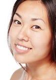 Asian beauty closeup Stock Image