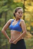 Asian Beauty Exercising Royalty Free Stock Photo