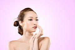 Asian beauty Stock Photos