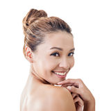 Asian beauty face Royalty Free Stock Photos