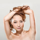 Asian beauty Stock Image