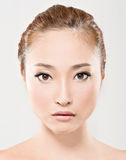 Asian beauty face Stock Photos
