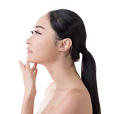 Asian beauty face Stock Image