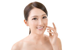 Asian beauty face Stock Images