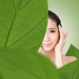 Asian beauty face Stock Photography