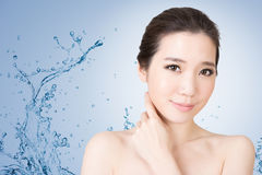 Asian beauty face Royalty Free Stock Images