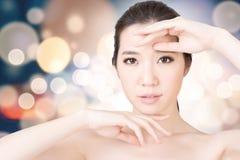 Asian beauty face Royalty Free Stock Photos