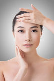 Asian beauty face Royalty Free Stock Image