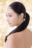 Asian beauty face Royalty Free Stock Photo