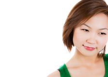Asian beauty with flawless skin Stock Photos