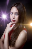 Asian beauty girl Royalty Free Stock Photo