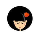 Asian beauty girl portrait Royalty Free Stock Photo