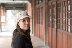 Asian beauty on street Stock Image