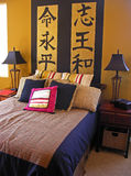 Asian Bedroom Stock Photos