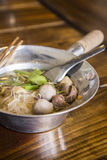 Asian beef noodle royalty free stock photography
