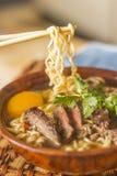 Asian Beef Ramen Royalty Free Stock Image