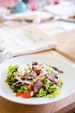 Asian beef salad Royalty Free Stock Image