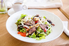 Asian beef salad Royalty Free Stock Photo