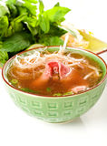 Asian Beef Soup Royalty Free Stock Photography