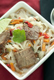 Asian Beef Soup Stock Image