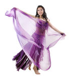 Asian Belly dancer Royalty Free Stock Images