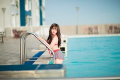 Asian, Bikini, Blur Royalty Free Stock Images