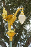 Asian Bird Street Light, Pole Topper Royalty Free Stock Images