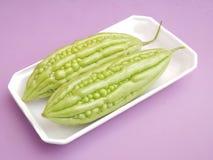 Asian bitter cucumbers Stock Photos