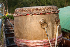 Asian boat drum Stock Photos