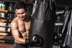 Asian Boxer Royalty Free Stock Photos