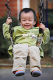 Asian Boy. Play is every child's nature Stock Photography