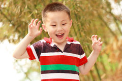 Asian boy Stock Photo