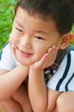 Asian boy Royalty Free Stock Images