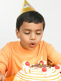 Asian Boy Celebrating Stock Images