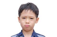 Asian boy crying Stock Image