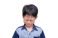 Asian boy crying Royalty Free Stock Photo