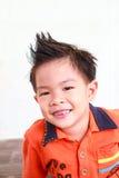 Asian boy in hair style Stock Photo