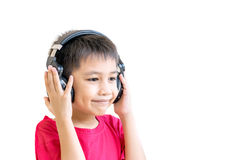 Asian boy happily Royalty Free Stock Image